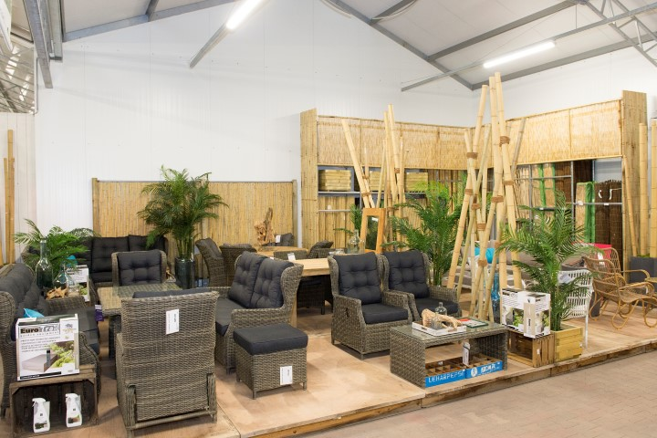 Showroom tuinmeubelen Tilburg